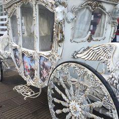 A carriage worthy of Cinderella herself! ~Splendor