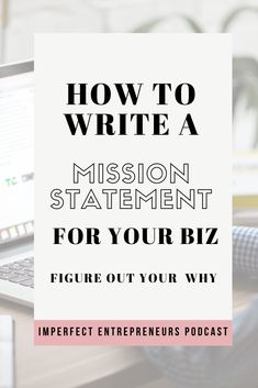 Do you know your WHY in your business? Do you know what is your mission with starting a blog, building an online business, becoming a coach. And I don't mean creating a freedom lifestyle and making more money or leaving your 9 to 5 career and build your successful business. I mean to know your mission. What do you believe? A mission statement provides you with clarity and focus. In this weeks podcast episode I will walk you through creating my own mission statement...