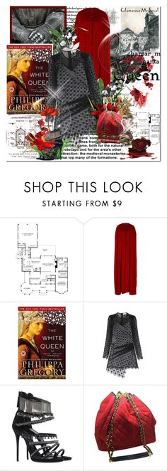 """""""Now and forever i am your Queen!!!!....."""" by purplecherryblossom ❤ liked on Polyvore featuring Oday Shakar, self-portrait, Giuseppe Zanotti and Chanel"""