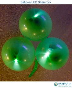 Here's a quick and easy decoration that will help light up your St. Patrick's Day festivities.