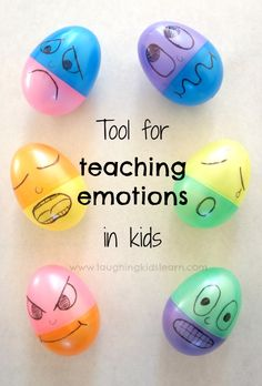 Tool for teaching emotions in kids of all ages.   By Laughing Kids Learn