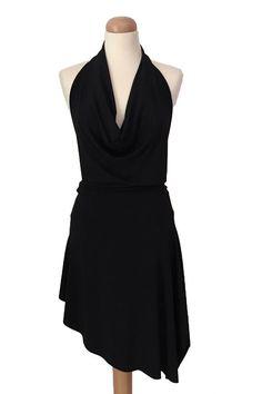 Mini asymétrique robe de danse  Robe de Tango  Latin robe