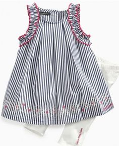 Calvin Klein Baby Set, Baby Girls Sleeveless Dress and Leggings - Kids Baby Girl (0-24 months) - Macy's
