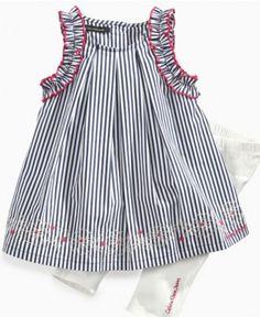 Calvin Klein Baby Set, Baby Girls Sleeveless Dress and Leggings - Kids Baby Girl (0-24 months) - Macy's