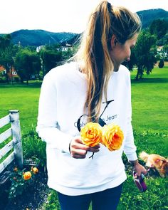 These roses were given to me for my birthday last year and they are still going strong! This year I… | calvin klein sweatshirt