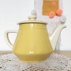 Orangevertevintage — Theiere Ancienne Villeroy Et Boch