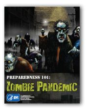 Preparedness 101: Zombie Pandemic - A graphic novel by the CDC. If you can survive a zombie apocalypse, you can survive anything! #zombiecomic #survivaltips