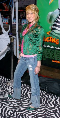 The time she rocked an 18-inch cuff 'cause she couldn't be bothered to get her jeans hemmed:
