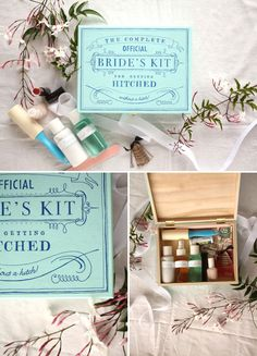 DIY - A Bride's Kit using Temporary Tattoo Paper + Paint - Full Step-by-Step Tutorial + PDF Printable.