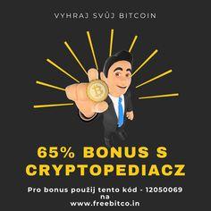Bitcoin zdarma každou hodinu + 65% bonus od nás.  V odkazu najdete návod jak na to.