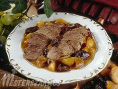 Trópusi vadkacsamell recept Steak, Dishes, Recipes, Food, Rezepte, Tablewares, Food Recipes, Tableware, Cutlery