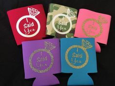 Cool Can Coolers by Surabhi on Etsy