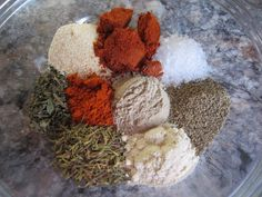 Mix It Up: spice mixes