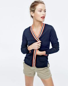 Carolyn Murphy in the J.Crew May Style Guide - Katie Considers Preppy Style, My Style, Casual Outfits, Fashion Outfits, J Crew Outfits Summer, Fashion Ideas, Fashion Trends, Carolyn Murphy, J Crew Style