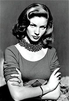 Lauren Bacall .....