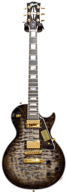 Gibson Les Paul Custom Quilt Top Cobra Burst Limited Run 2014