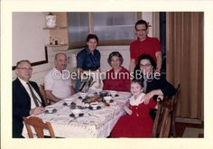 Vintage // Color Photo // Holiday Family by foundphotogallery