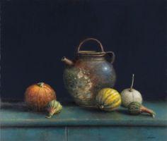 Pintura a óleo do pintor holandês Willie Berkers