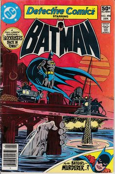 Detective Comics 498  January 1981 Issue  DC Comics by ViewObscura