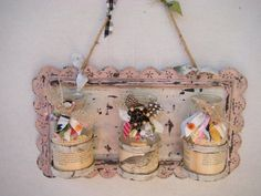 French Country Wall Display by lemonadestore on Etsy, $80.00
