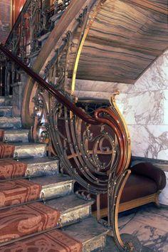 Art Nouveau - Hôtel Solvay - Bruxelles - Les Intérieurs