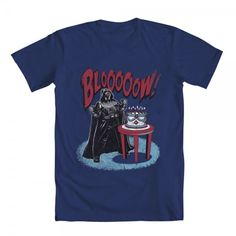 Vader Makes blowing out candles a Dramatic Experience