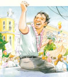 The Illustrated Story of Harvey Milk