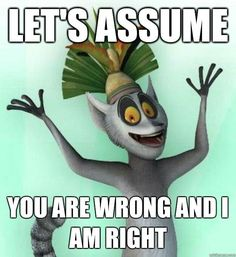 King Julien is five million kinds of awesome. King Julian Madagascar, Madagascar Movie, Penguins Of Madagascar, New York Giants Football, My Giants, King Julian Quotes, King Julien, Go Big Blue, Movie Quotes