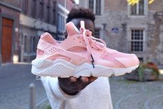 "Untitled - trybucustom: Nike Air Huarache ""Flamant Rose"" ..."