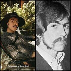 """Dhani Harrison & George Harrison - I believe George once said, """"Dhani looks more like George Harrison than I do."""""""