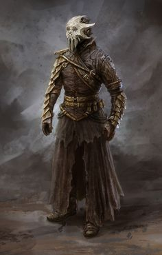 Cultist, Dragonborn - The Elder Scrolls V: Skyrim Elder Scrolls Skyrim, The Elder Scrolls, Elder Scrolls Games, Dark Fantasy, 3d Fantasy, Medieval Fantasy, Final Fantasy, Fantasy Armor, Skyrim Concept Art
