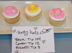 Easter Bonnet cupcakes