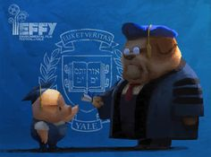 Pig is going to Canada! The Dam Keeper is an official selection of TIFF Kids International Film Festival taking place April 8th - 21st in Toronto Canada.   www.thedamkeeper.com