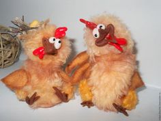 Игрушки животные, ручной работы. Заказать Несушка (Петух-символ нового года)…