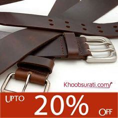 #Online_Shopping @ Khoobsurati.com Get Stylish #Belts For Men Upto 20% Off http://khoobsurati.com/men/accessories/belts