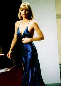 Michelle Pfeiffer's midnight blue in Scarface.