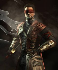 Mortal Kombat X -- Kenshi Cosplay Costume Version 01