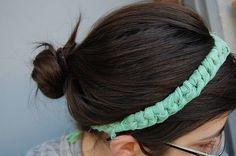 DIY knotted headband!