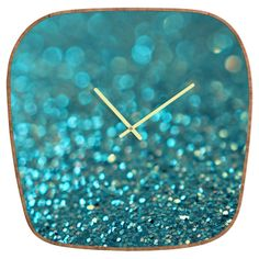 Lisa Argyropoulos Aquios Modern Clock