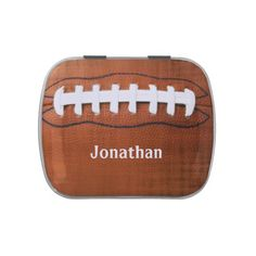Football Design Party Favor Candy Container Candy Tins
