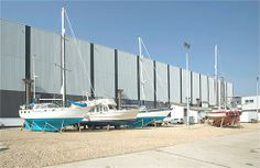 Are you looking for somewhere to store your boat which has easy access a good location and can have you sailing on the Solent within Portsmouth Harbour, Boat Storage, Best Location, Easy Access, Marina Bay Sands, Sailing, Yard, The Unit, Travel