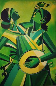 29 Ideas Dancing Drawings Watercolors For 2019 - Katzen Dancing Drawings, Cool Art Drawings, African Art Paintings, Modern Art Paintings, Madhubani Art, Madhubani Painting, Composition Painting, India Painting, Ac2