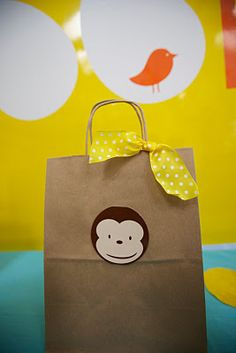 monkey party goody bag