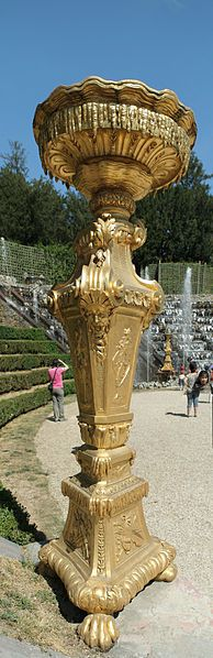 Bosquet des Rocailles - torchère