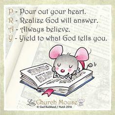PRAY....