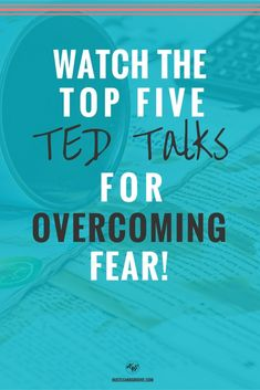 Watch these Top 5 TED talks on overcoming fear when you're feeling low. Click through to grab them now. Inspirational Ted Talks, Ted Talks Video, Self Development, Personal Development, Professional Development, Self Improvement, Self Help, Growth Mindset, Stress
