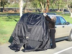 Amazon.com: SUV Tent Add-A-Cabana Black (All Orders Shipped Priority Mail No Extra Cost): Automotive