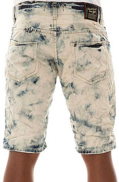The Acid Wash Denim Shorts in Blue by Standard and Grind use rep code: OLIVE for 20% off!