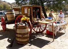 chuck wagon with accessories, Glenwood, NM
