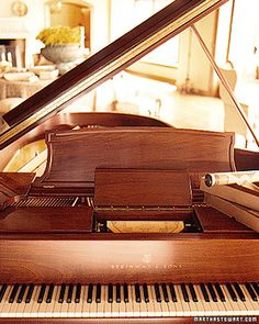 I will definitely have a baby grand in my future home!